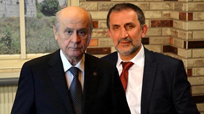 MHP Genel Başkanı Devlet Bahçeli - Kaynaşlı Belediye Başkanı Birol Şahin