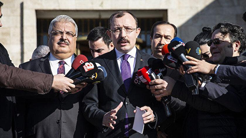 AK Parti Grup Başkanvekili Mehmet Muş açıklama yaptı.