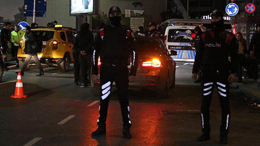 """İstanbul'da """"Yeditepe Huzur"""" asayiş uygulaması kapsamında denetimler gerçekleştiriliyor."""