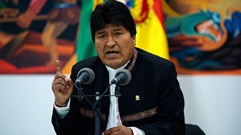 Bolivya eski Devlet Başkanı Evo Morales