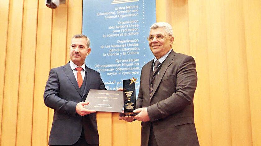 Kentsel ve Mimari Dokunun Korunması başarı ödülü