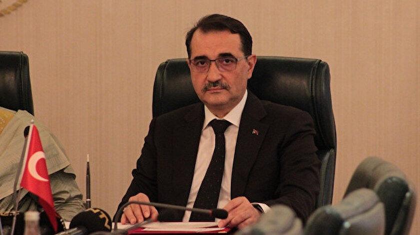 Enerji ve Tabii Kaynaklar Bakanı Fatih Dönmez açıklama yaptı.