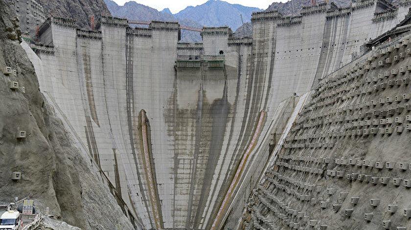 Yusufeli Barajı'nda yüzde 72'lik fiziki gerçekleşme sağlandı.