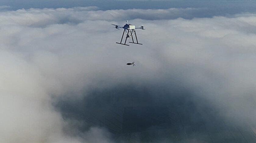 Songar silahlı drone sistemi ile Togan Havadan Bırakılan Güdümsüz/Düşük Profil Güdümlü Mühimmatı'nın güçleri birleştiriliyor.