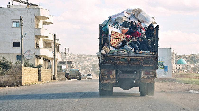 2 gün içinde 36 bine yakın sivil daha yerinden edildi.