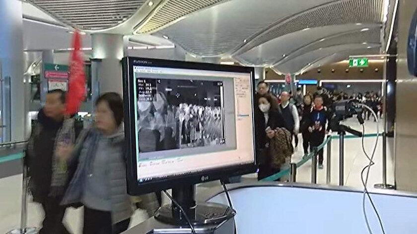 İstanbul Havalimanı'nda corona virüsü alarmı