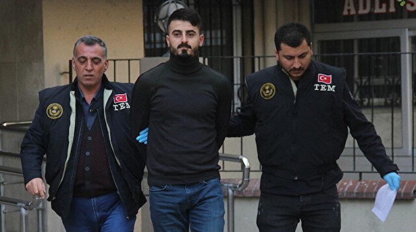 Bayram A. Adana'da polisler tarafından gözaltına alındı.