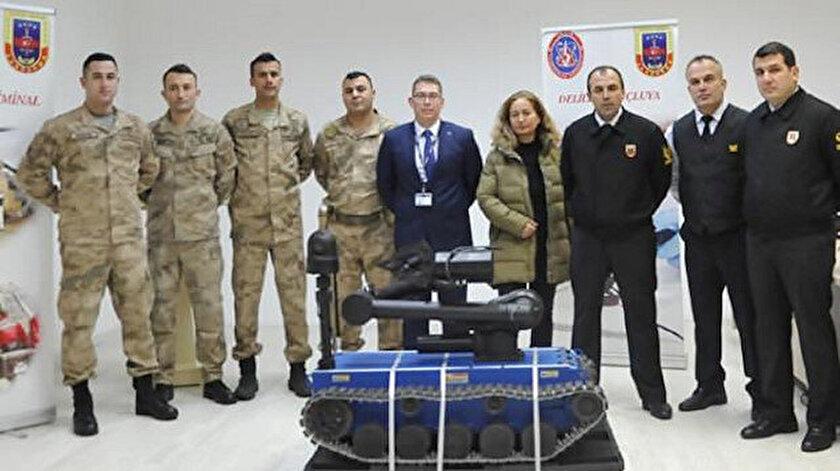 Sistemi kullanacak jandarma personelinin eğitimleri de tamamlandı.