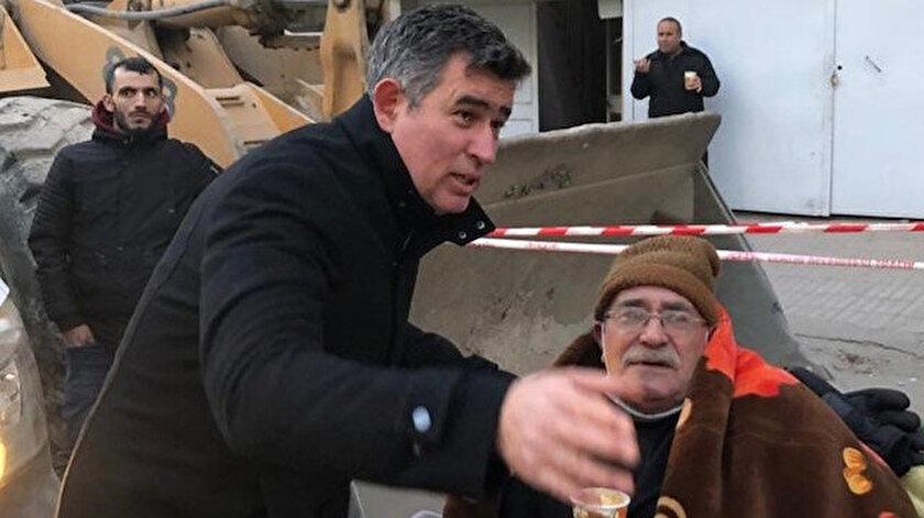 Metin Feyzioğlu Elazığ'da incelemelerde bulundu.