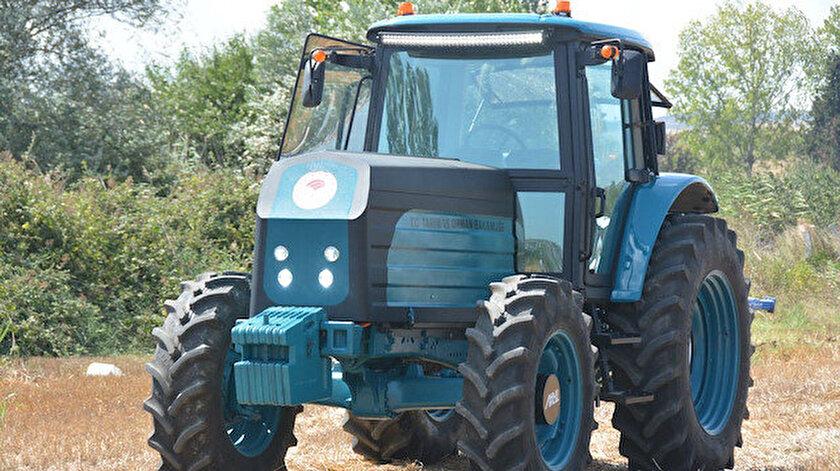 Bakan Pakdemirli: Elektrikli traktörün seri üretimine 2021de başlanacak