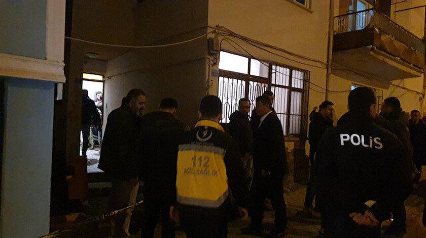 Bursa'da öldürülen Muhammed'in cesedi otopsi için morga kaldırıldı.