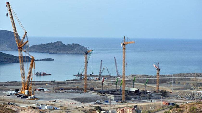Akkuyu Nükleer Güç Santrali 2023'de tamamlanacak.