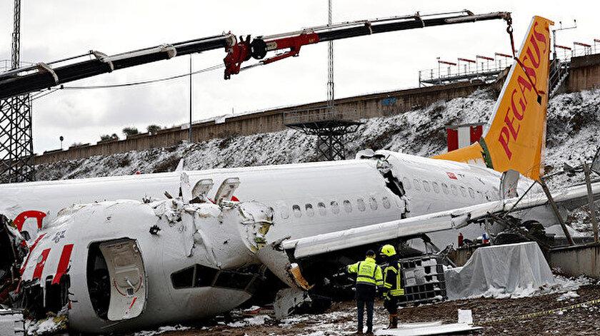 Sabiha Gökçen Havalimanı'nda 5 Şubat tarihinde meydana gelmişti. (Reuters)