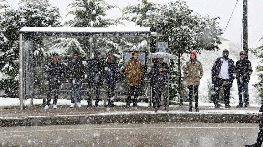 Meteorolojiden bazı illere kar yağışı uyarısı yapıldı.
