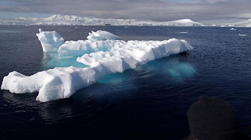 Antarktika'da sıcaklık ortalamaları son 50 yılda yaklaşık 3 derece arttı.