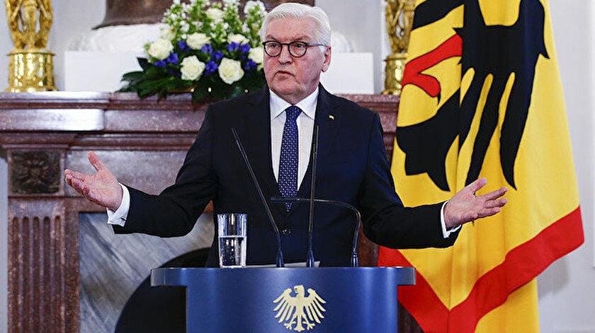 Almanya Cumhurbaşkanı Frank Walter Steinmeier