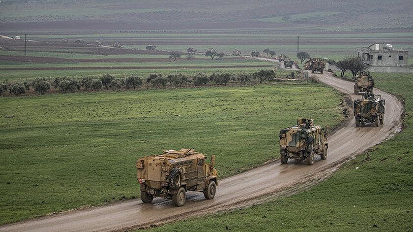 İdlib'e sevk edilen birlikler