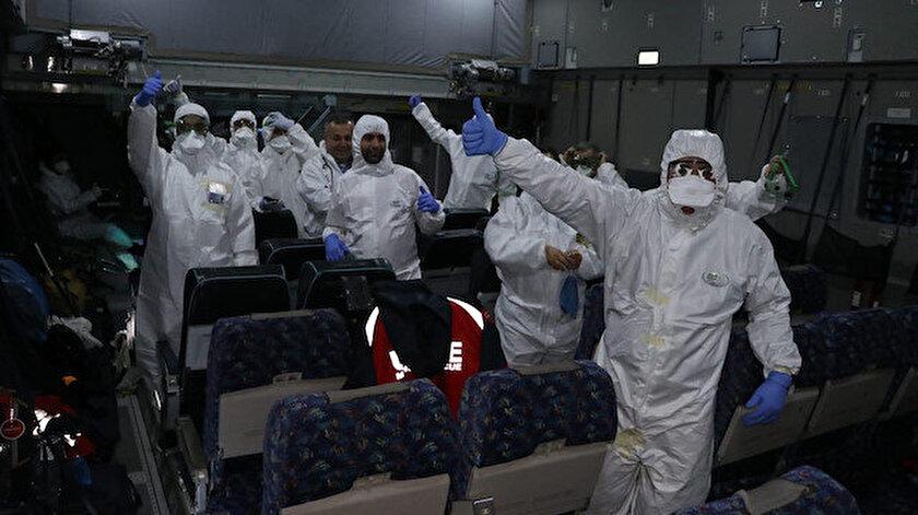 Çin'deki Türklerin tahliye operasyonu