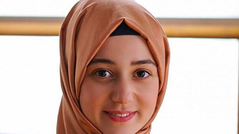 Araştırma Görevlisi Saliha Kaya.