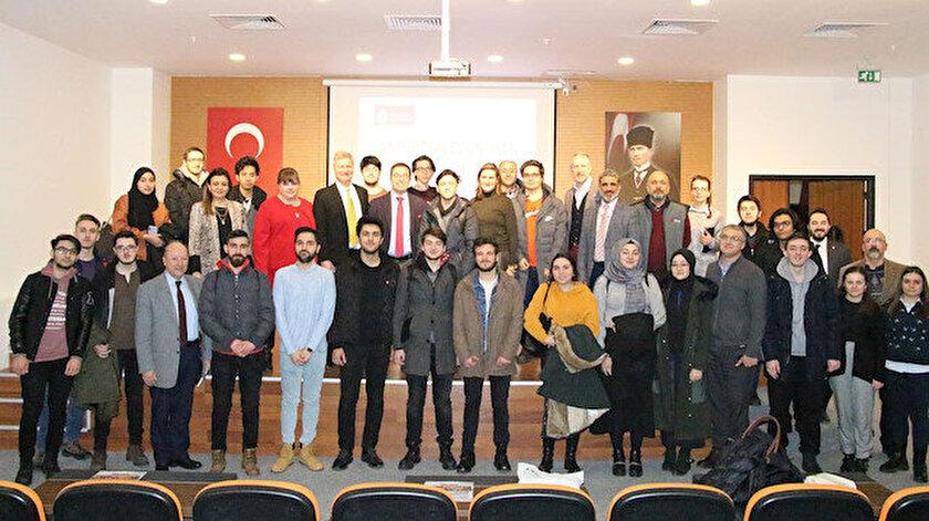 OSTİM Teknik Üniversitesi öğrencilerinin yoğun katılımıyla gerçekleşen etkinlik, öğrencilerden gelen soruların yanıtlanması ile sona erdi.