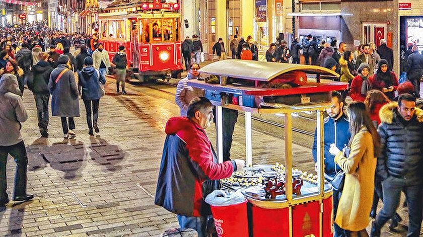 İstanbul sokakları soğuktan donarken çarşı - pazarda kârlar tavan yaptı. Kar az yağsa da, vatandaşın hevesi tüketim harcamasıyla birleşince seyyar piyasaya hareket ve bereket geldi. Kestane satıcılarının favorisi ise Arap turistler. Onlar sayesinde gelirin katlandığını söylüyorlar. Atilla  Bozok, özellikle akşam saatlerinde satışların yüzde yüz arttığını ve yabancı ziyaretçilerin talebi olmasa eldeki kazancın yüzde 70 düşeceğini aktarıyor.