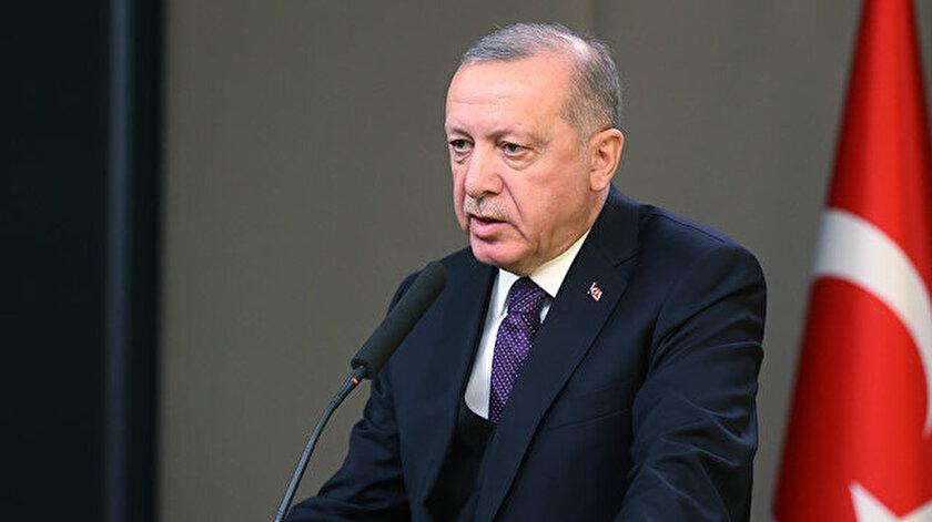 Cumhurbaşkanı Erdoğan Esenboğa'da açıklama yaptı.