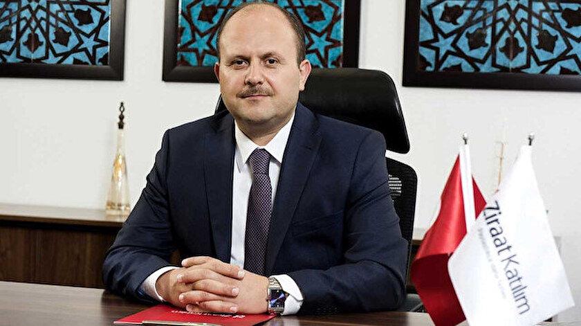 Ziraat Katılım Genel Müdürü Metin Özdemir.