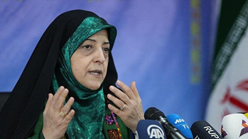 İran Cumhurbaşkanı Yardımcısı Masume İbtikar.