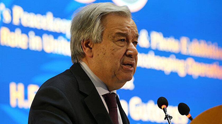 Birleşmiş Milletler (BM) Genel Sekreteri Antonio Guterres