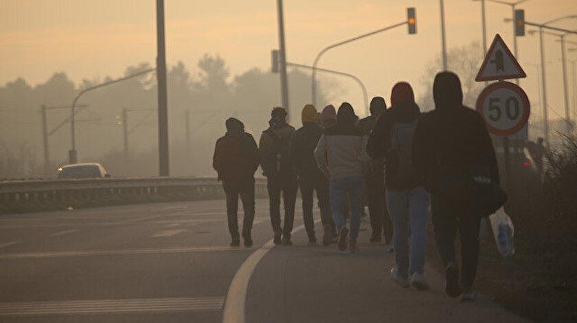 Avrupa'ya gitmek isteyen göçmenler sınır bölgelerine doğru yola çıktı.