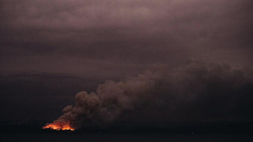 Avustralya'da iklim değişikliğinin yan etkilerinden biri de yangınlar