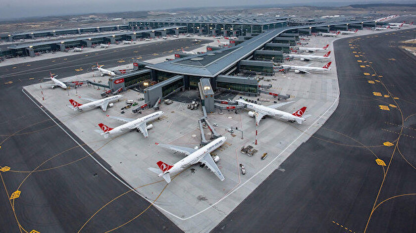 İstanbul Havalimanı 11 ayda 400 bin uçakla 64 milyon yolcuya hizmet verdi