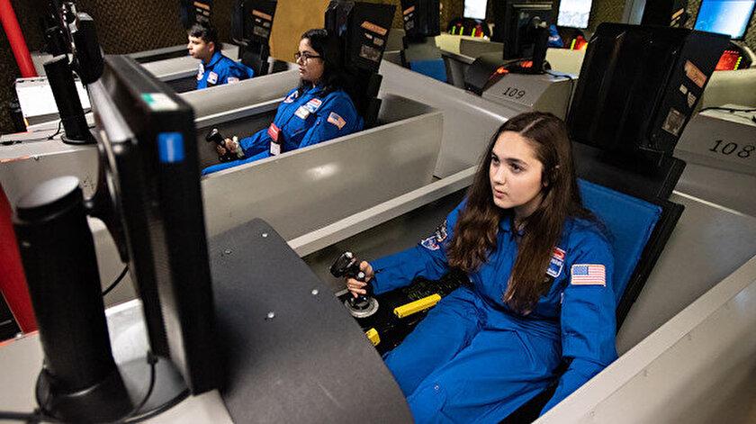 Uzay kampında ülkemizi temsil ettiler