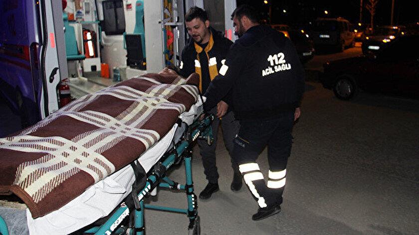 Yaralanan Afgan uyruklu gencin sağlık durumu iyi.