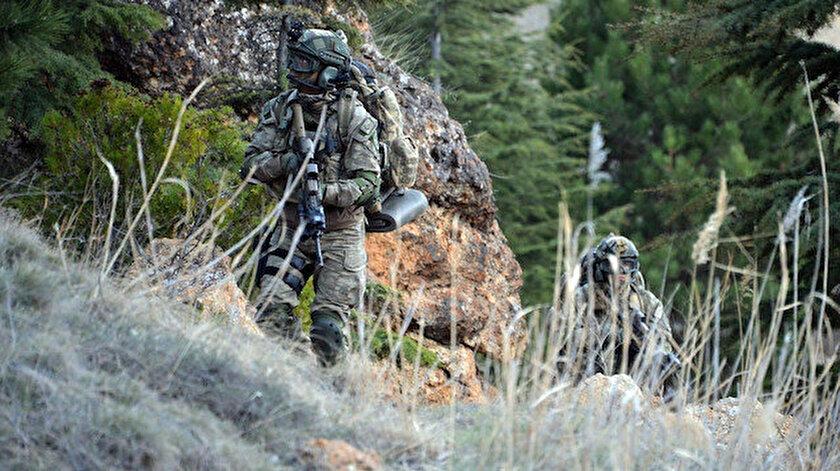 Güvenlik güçleri, terör örgütlerine yönelik operasyonlarını hız kesmeden sürdürüyor.