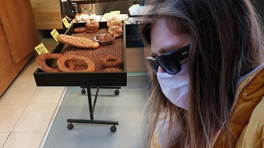 Açıkta satılan ekmekler tehlike saçıyor.