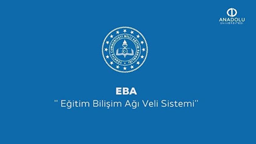 EBA ağı evden çalışmaya hazır