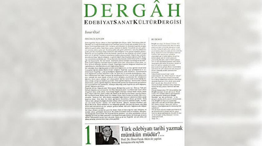 Dergah dergisinin ilk sayısı