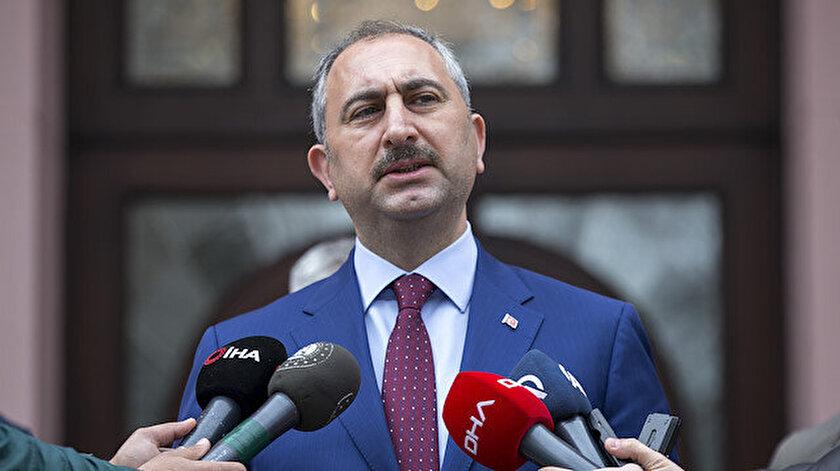 Adalet Bakanı Abdulhamit Gül açıklama yaptı.