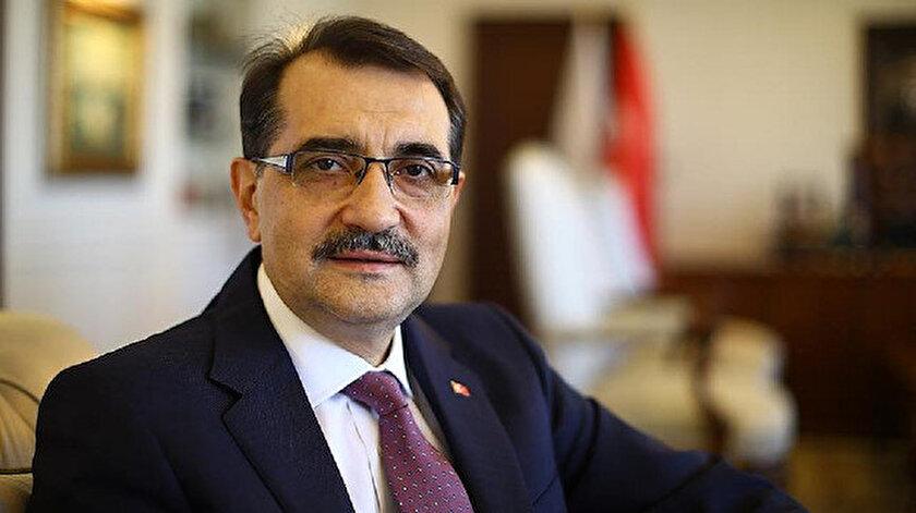 Enerji ve Tabii Kaynaklar Bakanı Dönmez.
