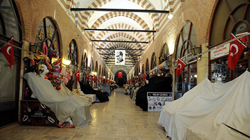 Tarihi Ali Paşa, Bedesten ve Arasta çarşıları geçici süreyle kapatıldı.