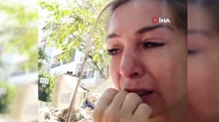 Sema Yavaş, sosyal medyada yayınladığı videoda gözyaşları içinde Türk topraklarına geri dönmek istediğini söylüyor.
