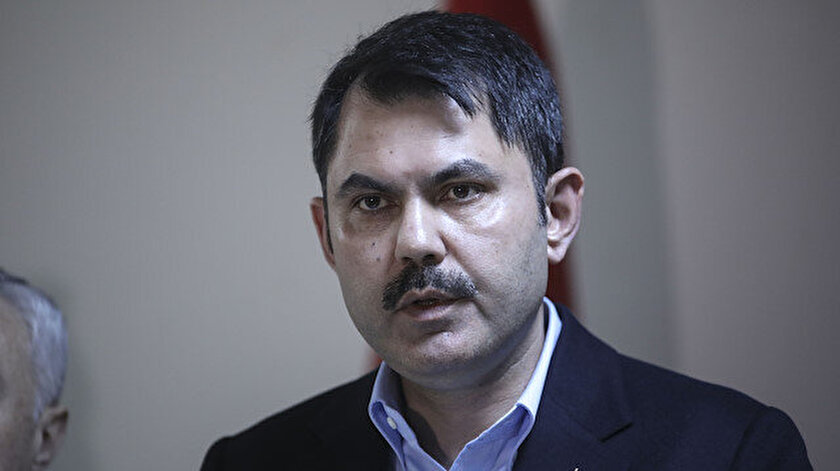 Çevre ve Şehircilik Bakanı Murat Kurum açıklama yaptı.