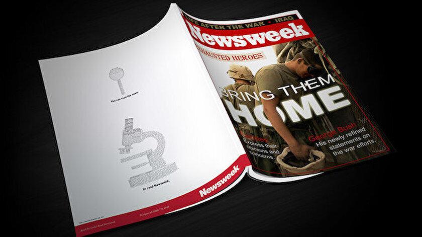 ABD'li haftalık haber dergisi Newsweek.