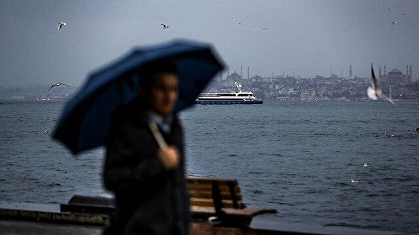 Meteorolojiden İstanbul için yağış uyarısı yapıldı.