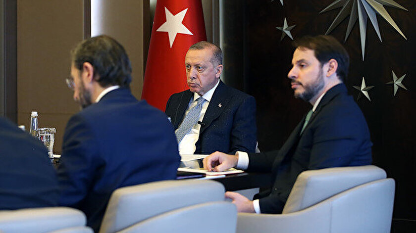 Cumhurbaşkanı Erdoğan G20 Liderler Zirvesine telekonferansla katıldı.
