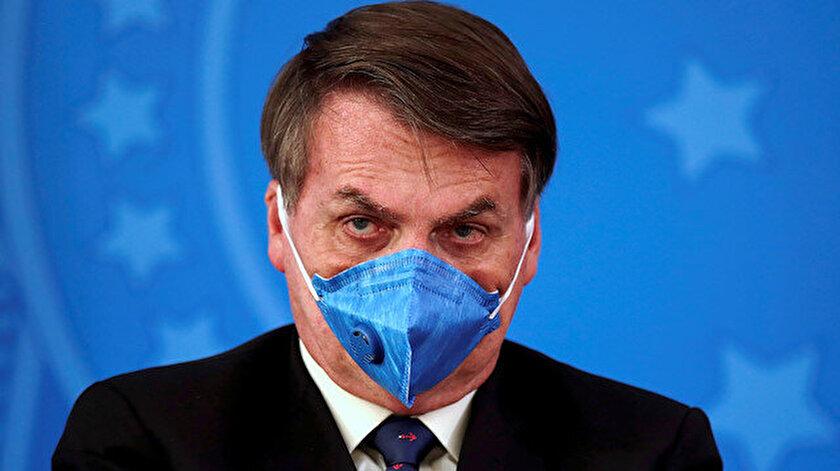 Brezilya Devlet Başkanı Bolsonaro, koronavirüsü 'basit bir grip' olarak nitelendirdi.
