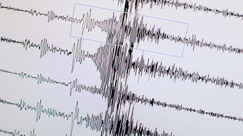 Hoy kentinde 4,4 büyüklüğünde deprem meydana geldi.