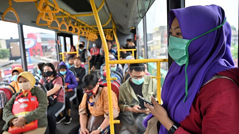 Endonezya'da vaka sayısı her geçen gün artıyor.