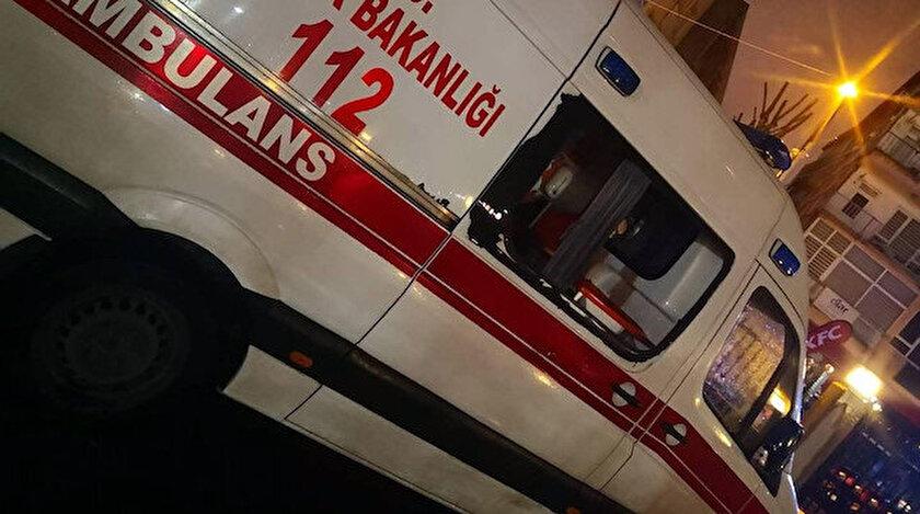 İstanbul'da bir kişi koronavirüs vakasına giden 112 ekibine saldırdı.
